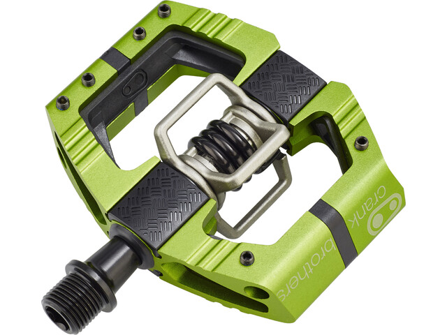 Crankbrothers Mallet E Enduro Pedales, green